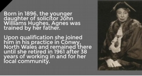 Agnes Hughes - the First Lady Solicitor in Wales